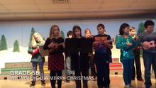 Grade 5B We Wish You  A Merry Christmas